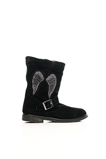 Bottines/Boots noir REQINS pour fille