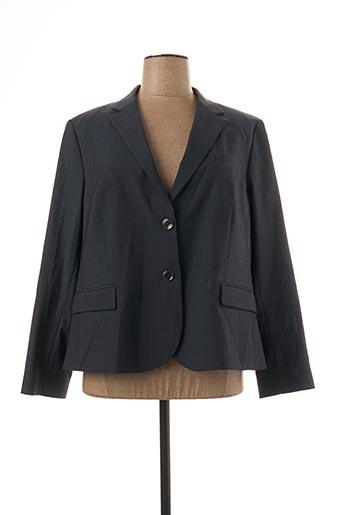 Veste chic / Blazer bleu BRUNO SAINT HILAIRE pour femme