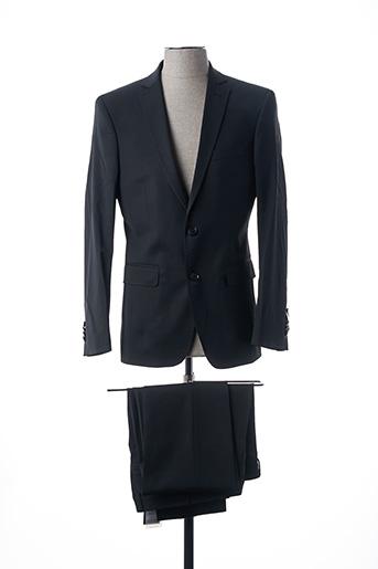 Costume de ville noir BRUNO SAINT HILAIRE pour homme