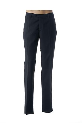Pantalon chic noir BRUNO SAINT HILAIRE pour homme