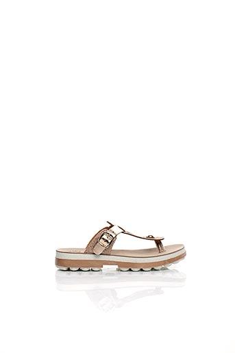 Sandales/Nu pieds rose FANTASY SANDALS pour femme