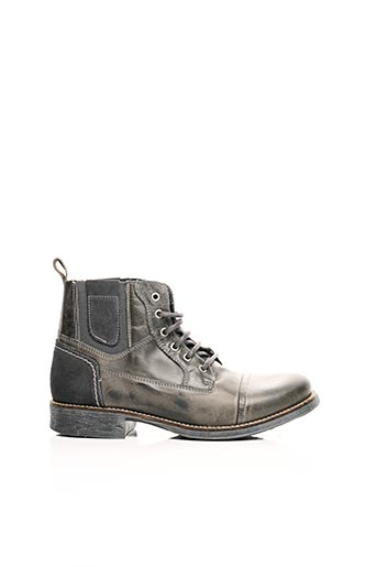 Bottines/Boots gris ARID BY ARIMA pour homme