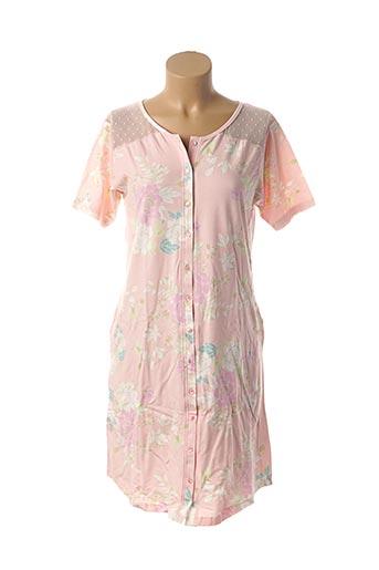Chemise de nuit rose PROMISE pour femme