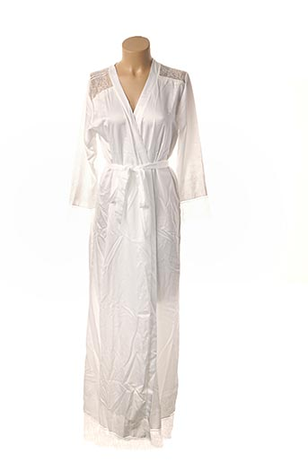 Robe de chambre blanc PROMISE pour femme