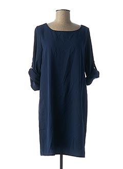 Robe courte bleu AKOZ pour femme