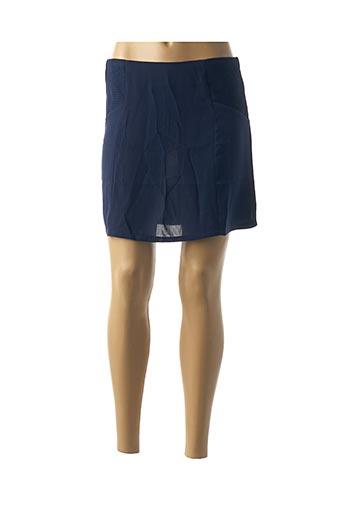 Jupe courte bleu AKOZ DE TOI pour femme