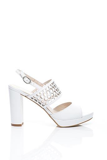 Sandales/Nu pieds blanc AMARU pour femme
