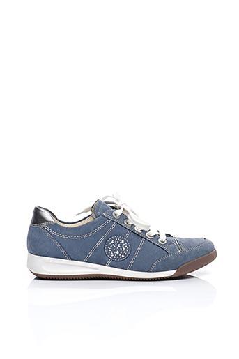 Baskets bleu ARA pour femme