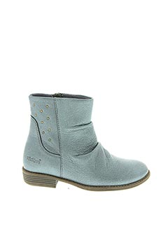Bottines/Boots bleu KICKERS pour fille