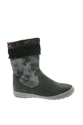 Bottines/Boots noir ACHILE pour fille