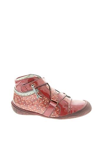 Bottines/Boots rouge GBB pour fille