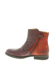 Bottines/Boots rouge KICKERS pour fille seconde vue