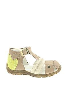 Sandales/Nu pieds beige ASTER pour garçon