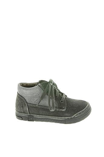 Baskets gris ASTER pour garçon