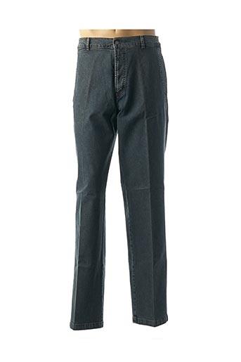 Jeans coupe droite bleu PIONIER pour homme