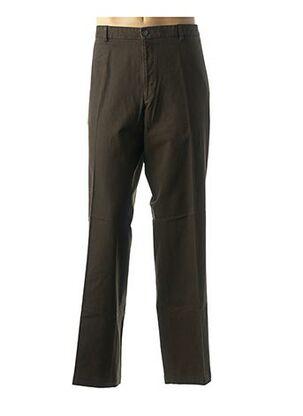Pantalon casual marron DANIEL HECHTER pour homme