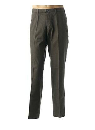 Pantalon casual vert DANIEL HECHTER pour homme