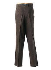 Pantalon casual marron DANIEL HECHTER pour homme seconde vue