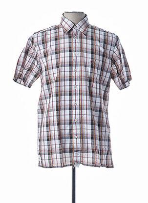 Chemise manches courtes noir CAMEL ACTIVE pour homme