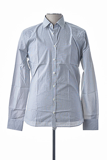 Chemise manches longues gris DIGEL pour homme
