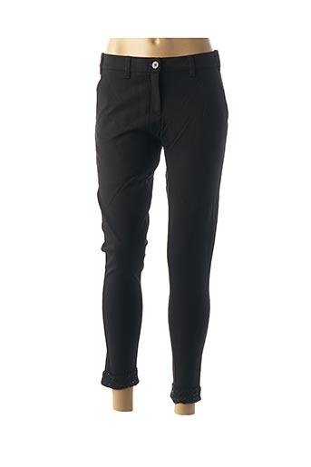 Pantalon 7/8 noir DENIM &DRESS pour femme