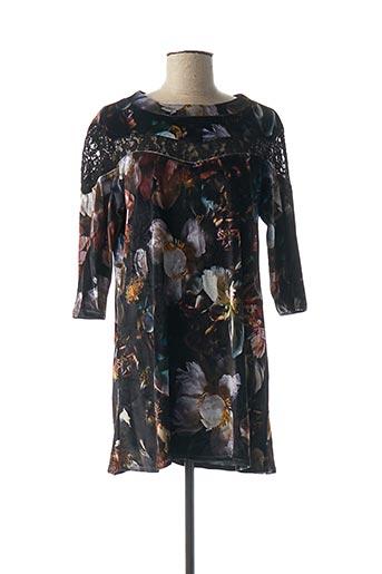 Robe courte noir DENIM &DRESS pour femme