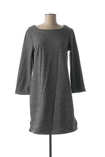 Robe mi-longue noir DENIM &DRESS pour femme