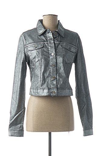 Veste casual gris DENIM &DRESS pour femme