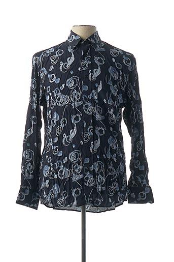 Chemise manches longues bleu COUTURIST pour homme