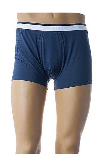 Shorty/Boxer bleu HUGO BOSS pour homme