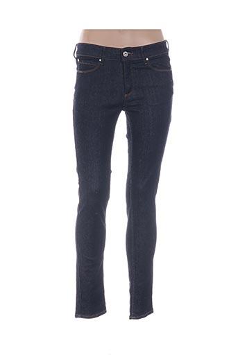 Jeans coupe slim bleu CARLA KOPS pour femme