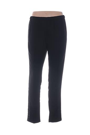 Pantalon casual noir ANGE pour femme