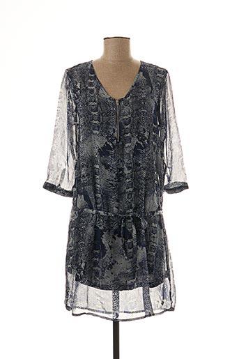 Robe courte bleu DDP pour femme