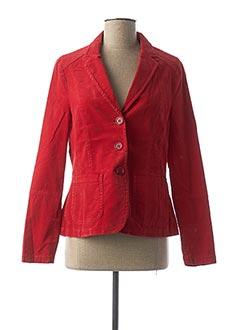 Veste casual rouge BIANCA pour femme