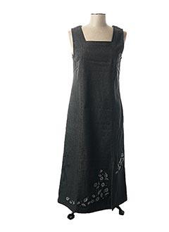 Robe longue gris JAC JAC pour femme