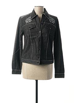 Veste casual noir JAC JAC pour femme