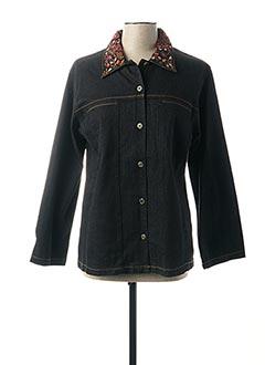 Veste en jean noir JAC JAC pour femme