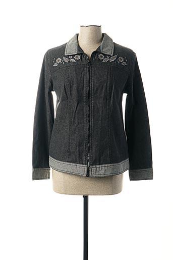 Veste en jean gris JAC JAC pour femme