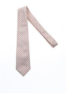 Cravate beige DANIEL VALENTE pour homme