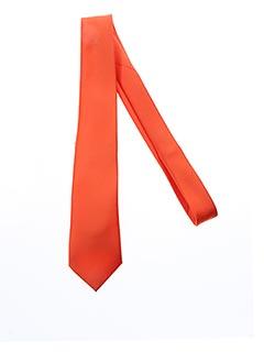 Cravate orange ROBUR pour homme
