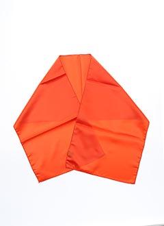 Foulard orange ROBUR pour femme