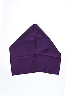 Foulard violet ROBUR pour femme