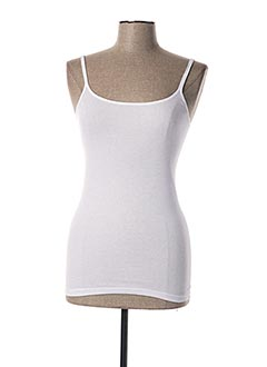 Top/Caraco blanc TRIUMPH pour femme