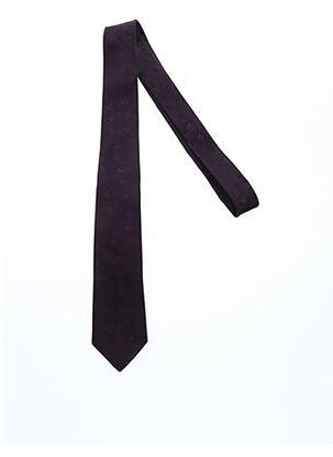 Cravate violet CLAUDE GABRIEL pour homme