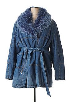 Veste en jean bleu SPATIAL pour femme