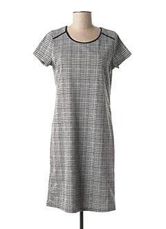 Robe mi-longue gris RENATTO BENE pour femme