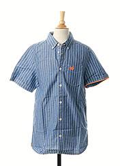 Chemise manches courtes bleu TOM TAILOR pour garçon seconde vue