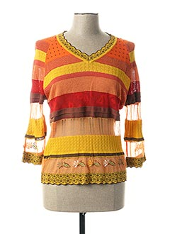 T-shirt manches longues orange ALDO MARTIN'S pour femme