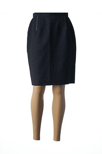 Jupe mi-longue gris ANNE CEYLAC pour femme