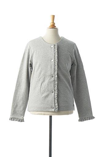 Veste casual gris CARREMENT BEAU pour fille